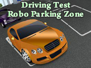 Driving Test Robo Parking Zone