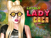 Lovely Lady Gaga Makeup