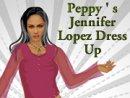 Peppy's Jennifer Lopez Dress Up
