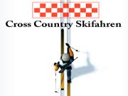 Cross Country Skifahren Skiing