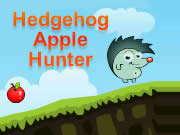 Hedgehog Apple Hunter