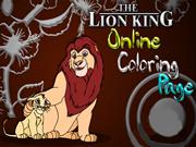 Lion King Online Coloring