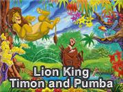 Lion King Timon and Pumba