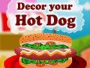 Decor your Hot dog