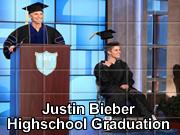 Justin Bieber Highschool Graduation