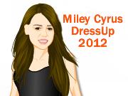 Miley Cyrus Dress Up 2012