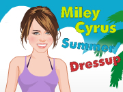 Miley Cyrus Summer Dress Up