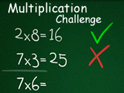 Multiplication Challenge