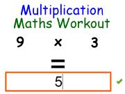 Multiplication Maths Workout