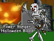 Power Ranger Halloween Blood