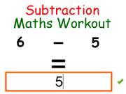 Subtraction Maths Workout
