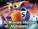3D Movies Hidden Alphabets