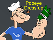 Popeye Dress up Games