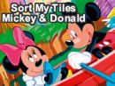 Sort My Tiles Mickey and Donald