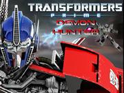 Transformers Prime Demon Hunter