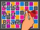 Color Dart Board