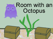 Escape Game Room with an Octopus