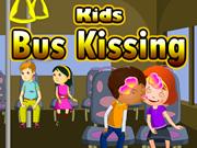 Kids Bus Kissing