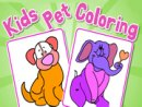 Kids Pet Coloring