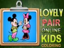 Lovely Pair Online Coloring
