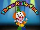 Throw Knife Face