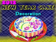 2012 New Year Cake