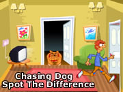 Chasing Dog - Spot The Difference