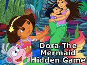 Dora The Mermaid Hidden Game