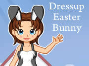 Dressup Easter Bunny