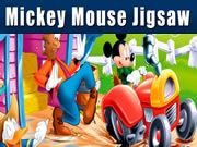 Mickey Mouse Jigsaw Game