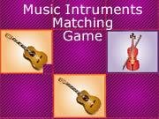 Music Intruments Matching Game