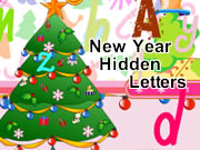 New Year Hidden Letters