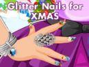 Glitter Nails for XMAS