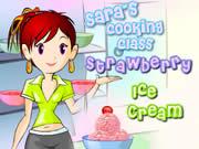 Sara's Cooking Class Berry Ice Cream