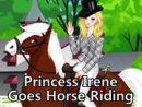 Princess Irene Goes Horse Riding