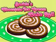 Barbie Chocolate Ice Cream Cake Roll