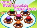 Cerise's Wood Chocolate Pretzel Treats