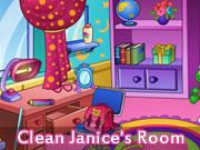 Clean Janice's Room