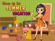 Clean Up for Summer Vacation