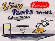 Fancy Pants Adventure World 1 Remix