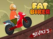 Fat Biker Stunts