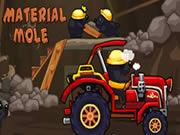 Material Mole Tractor