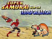 Power Rangers Super Samurai Super Transformation