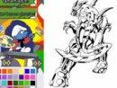Bakugan Coloring Wolf