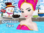 Frozen Elsa Outdoor Spa