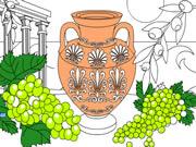 Greek Amphora Coloring