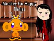 Monkey Go Happy: Ninjas