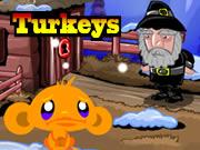 Monkey Go Happy Turkeys