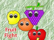 Pumpkin In Fruit Fight
