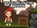 Red Girl In The Woods